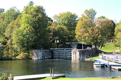 Photograph - Lock Gates At Jones Falls by Valerie Kirkwood