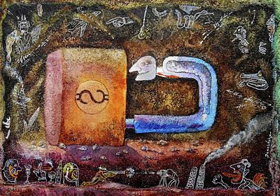Painting - Lock Him Up by Leon Zernitsky