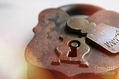 Photograph - Lock by Mary-Lee Sanders