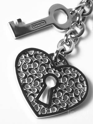 Lock Of Love Art Print by Jennifer Boisvert
