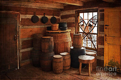 Photograph - Lock Stock And Barrel Ready For Winter by Barbara McMahon