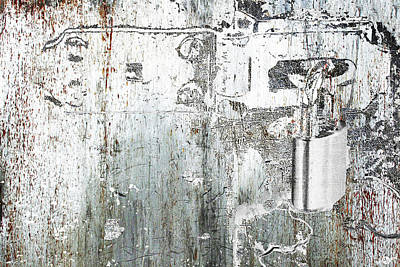 Steele Mixed Media - Lock by Tony Rubino