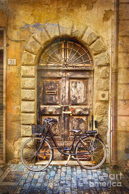 Photograph - Lock-up Bicycle by Craig J Satterlee