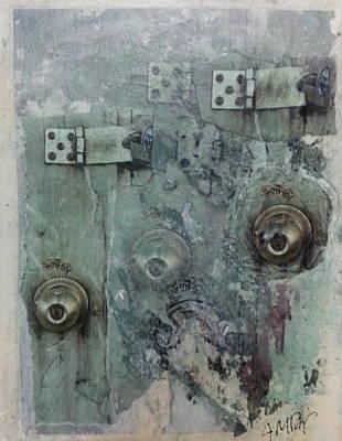 Locked Art Print by Ana Diaz