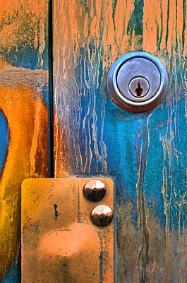 Photograph - Locked Away In Colour by Tara Turner