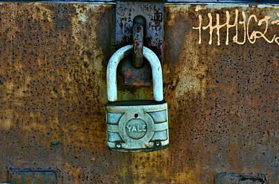 Photograph - Locked  by Brynn Ditsche