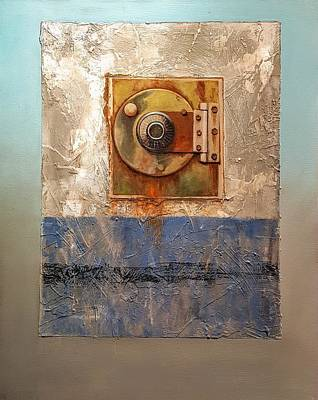 Painting - Locked Combination by Jessica Anne Thomas