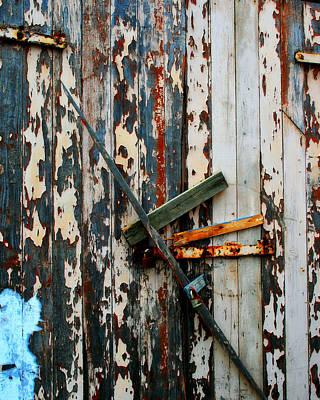 Locked Door Print by Perry Webster