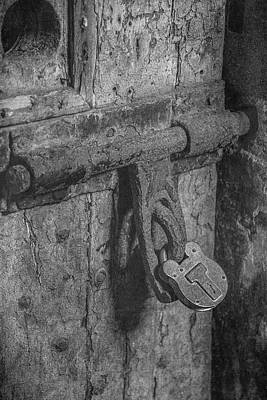 Photograph - Locked In Bw by Teresa Wilson