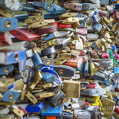 Czech Republic Photograph - Locked In Love by Nichola Denny