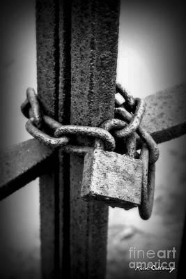 Photograph - Locked In Or Out by Reid Callaway