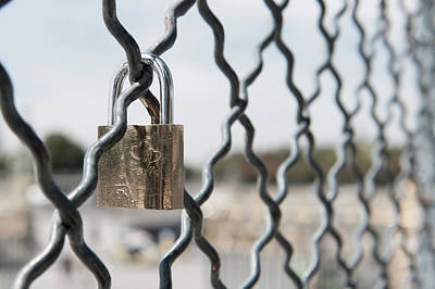 Photograph - Locked In Paris IIi by Helen Northcott