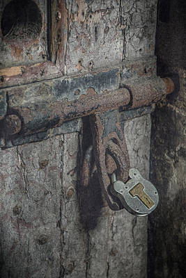 Photograph - Locked In by Teresa Wilson