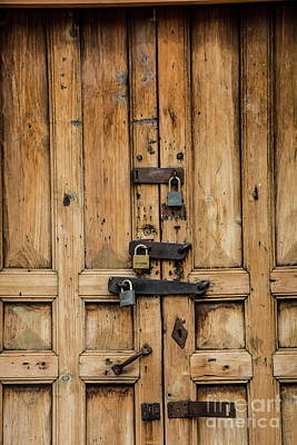 Photograph - Locked by Kathy McClure