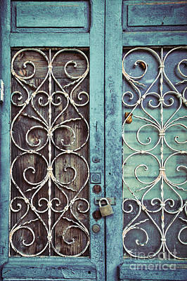 Blue Doors Photograph - Locked Out by Ana V Ramirez