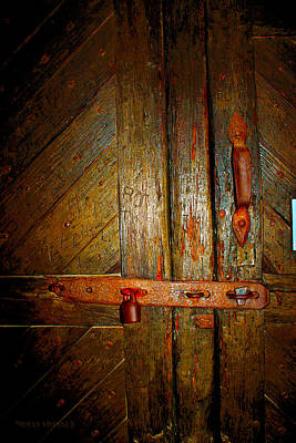 Photograph - Locked Out-st. Augustine by Susan Vineyard