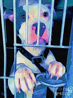 Digital Art - Locked Up by Kathy Tarochione
