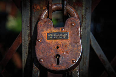 Photograph - Locked Up Tight by Doug Camara