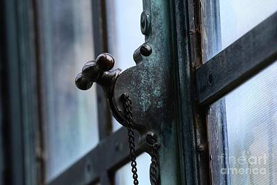 Photograph - Locked Window by Cindy Manero