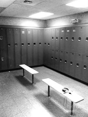 Photograph - Locker Room by WaLdEmAr BoRrErO