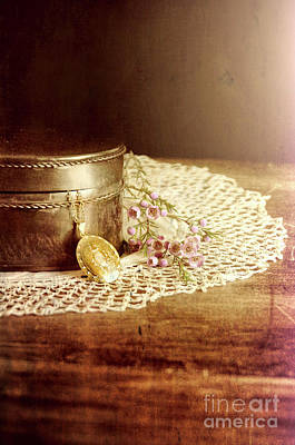 Photograph - Locket And Box by Jill Battaglia