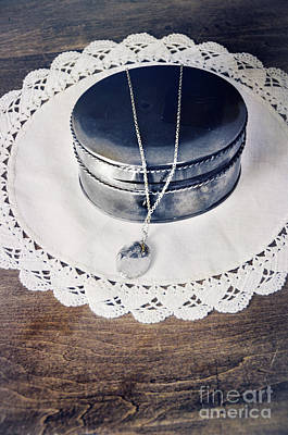 Photograph - Locket On Box by Jill Battaglia