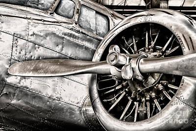 Lockheed Electra Photograph - Lockheed 1l-10a Electra by Bryan Keil