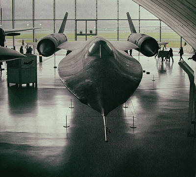 Lockheed Blackbird Art Print