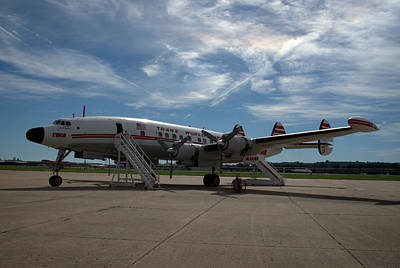 Photograph - Lockheed Constellation Super G by Tim McCullough