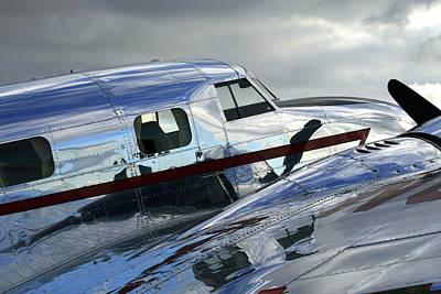 Lockheed Electra Photograph - Lockheed Electra Jr Fuselage by Steve Skinner