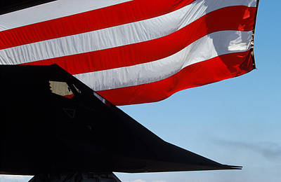 Photograph - Lockheed F-117a Stealth Fighter by John Clark