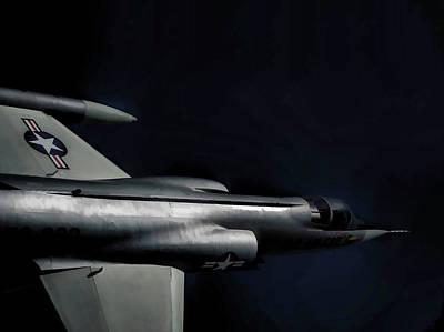 Air Force Photograph - Lockheed F104 Starfighter V2 by John Straton