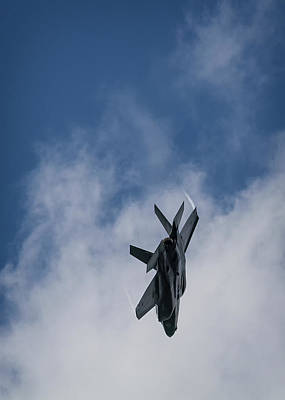 Photograph - Lockheed Martin F-35 Lightning II by Shirley Mitchell