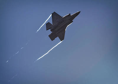 Photograph - Lockheed Martin F-35b  by Shirley Mitchell