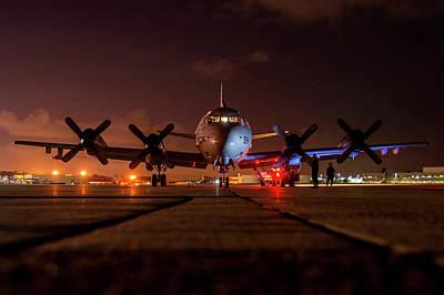 Transportation Digital Art - Lockheed P-3 Orion by Maye Loeser