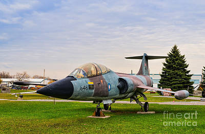 Photograph - Lockheed Starfighter Cf-104 by Les Palenik