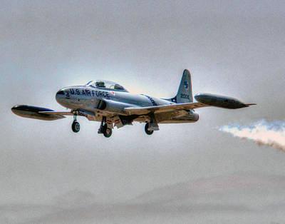 T33 Photograph - Lockheed T-33 026 by Jeff Stallard