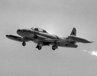 T33 Photograph - Lockheed T-33 027 by Jeff Stallard