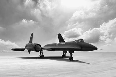 Lockheed Yf-12 Art Print by Peter Chilelli