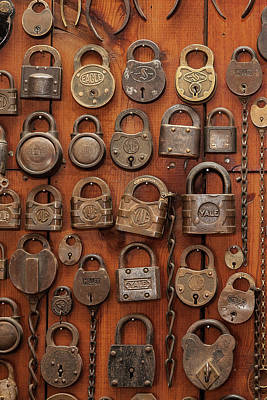 Photograph - Locks by Jay Beckman