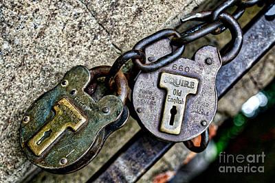 Photograph - Locks N Chains by Phil Cappiali Jr