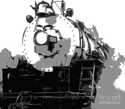Railroad Mixed Media - Locomotion by Richard Rizzo