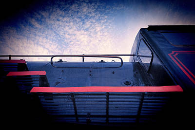 Photograph - Locomotive #1207 by Andrey  Godyaykin