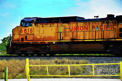Photograph - Locomotive 122517-1 by Ray Shrewsberry