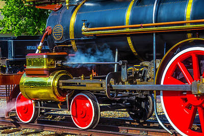 Photograph - Locomotive 1875 by Garry Gay