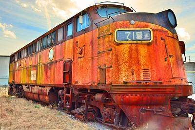 Photograph - Locomotive 715 by Lisa Wooten