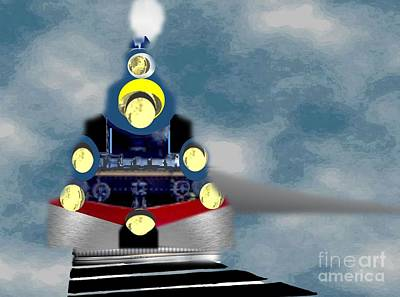 Painting - Locomotive  by Belinda Threeths