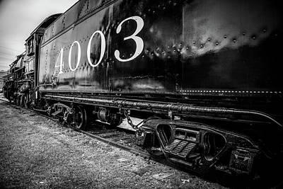 Locomotive Engine Art Print