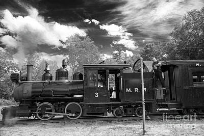 Photograph - Locomotive Monson #3  by Alana Ranney