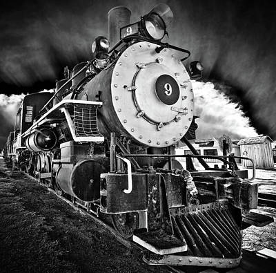 Locomotive Nine Art Print